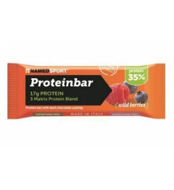 BARRITA NAMEDSPORT PROTEINBAR FRUTOS DEL BOSQUE...