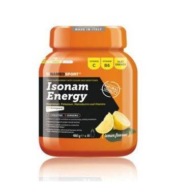 ISOTÓNICO NAMEDSPORT ISONAM ENERGY LIMON (BOTE...