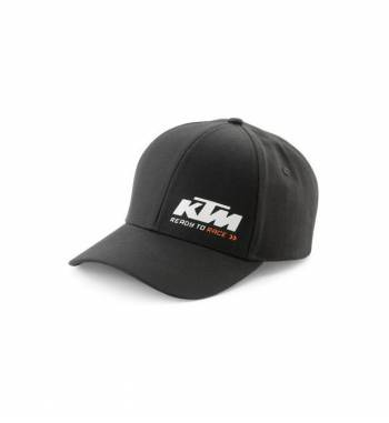 Gorra KTM RACING BLACK CAP